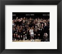 Framed Cleveland Cavaliers celebrate winning Game 7 of the 2016 NBA Finals
