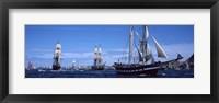 Framed Tall Ships, Brittany, France