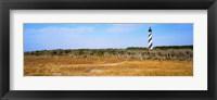 Framed Cape Hatteras Lighthouse, Outer Banks, North Carolina