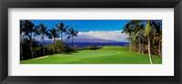 Framed Wailea Emerald Course, Maui, Hawaii