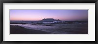 Framed Blouberg Beach at Sunset, Cape Town, South Africa