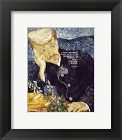 Framed At the Beginning - Van Gogh Quote 1