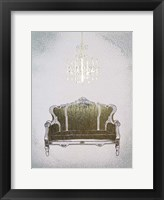 Gilded Furniture III - Metallic Foil Framed Print