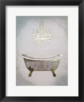 Gilded Bath II - Metallic Foil Framed Print