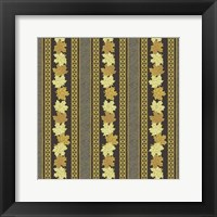 Maple Ribbons I Framed Print