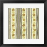 Maple Ribbons II Framed Print
