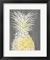 Vibrant Pineapple Splendor I Framed Print