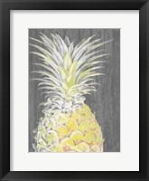 Vibrant Pineapple Splendor I Framed Print