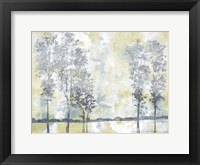 Watercolor Mist II Framed Print
