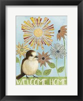 Spring Welcome II Framed Print