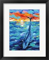 Ocean Friends II Framed Print