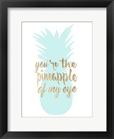 Pineapple Life II Framed Print