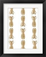 Pineapple Life VI Framed Print