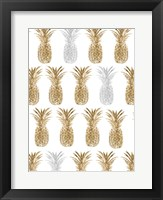 Pineapple Life VII Framed Print