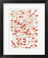 Candy Pattern II Framed Print