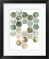 Framed Hexocollage II