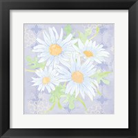 Framed Daisy Patch Serenity I