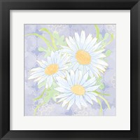 Framed Daisy Patch Serenity II