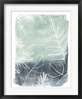 Tropical Batik II Framed Print