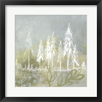 Treeline Collage II Framed Print