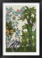 Paradis Chinoiserie II Framed Print