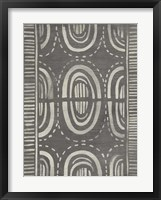 Mudcloth Patterns II Framed Print