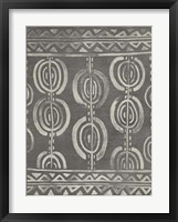 Mudcloth Patterns IV Framed Print