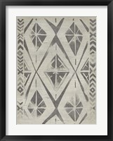 Mudcloth Patterns V Framed Print