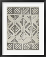 Mudcloth Patterns VII Framed Print