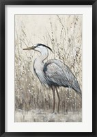Hunt in Shallow Waters II Framed Print