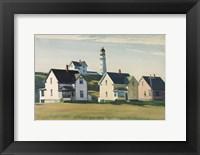 Framed Lighthouse Village (also known as Cape Elizabeth), 1929