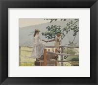 Framed On the Stile, 1878