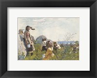 Framed Berry Pickers, 1873
