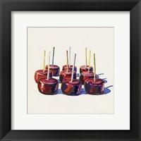 Framed Nine Jelly Apples, 1964