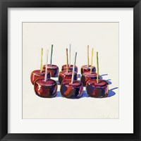 Framed Nine Jelly Apples, 1964