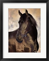Framed TBD (black horse)