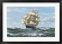 Framed Racing Home 'The Cutty Sark'