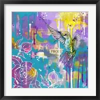 Framed Hummingbird's Folly