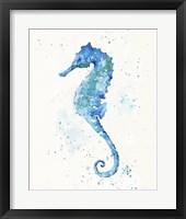 Framed Sailing Along (Seahorse)