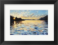 Framed Lake Pend Oreille