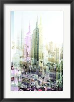 Framed Empire State Building Multiexposure I
