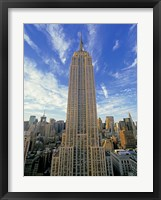 Framed Empire State Building, New York City