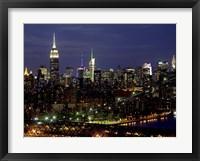 Framed Midtown Manhattan at Night 1