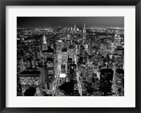 Framed Midtown Manhattan at Night 2