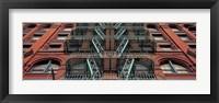 Framed Puck Building Facade, Soho, NYC