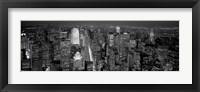 Framed Midtown Manhattan at Night