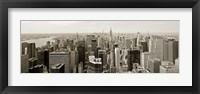 Framed Manhattan Looking South