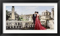 Framed Lovers in Paris