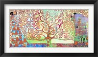 Klimt's Tree of Life 2.0 Framed Print