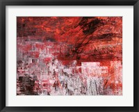 Framed Rosso Tramonto